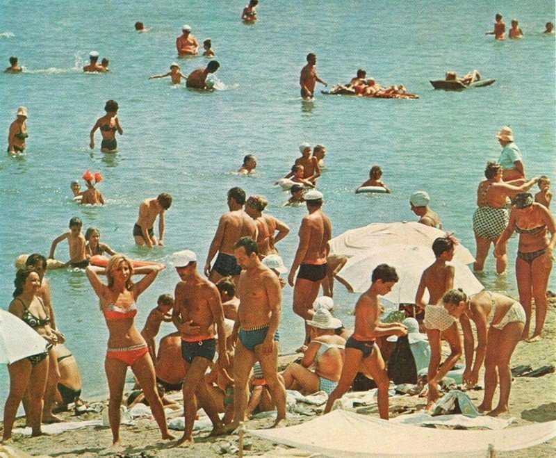 Советские пляжные фото
