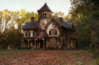 Старый дом с паранормальными явлениями. Мистика.