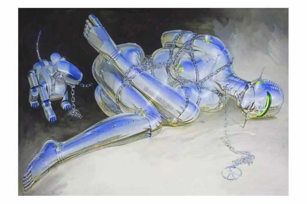 Женское тело. Художник Конг Сандзи
