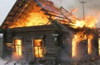 Сжечь свой дом получилось, а страховку получить не получила