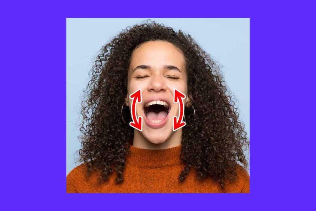 Овал лица, как изменить, избавиться от обвисших щек без операций