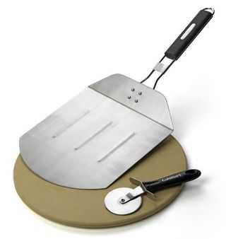 стальная лопатка для пиццы