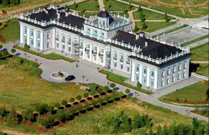 Самый дорогой современный дворец русского миллиардера.