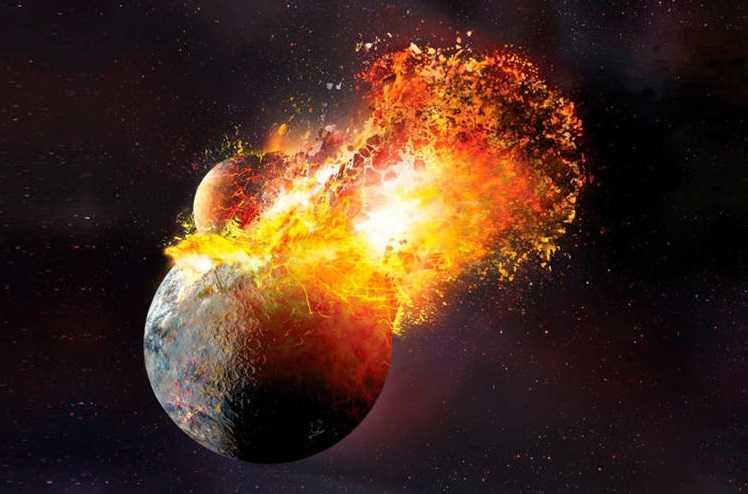 планета Тейя сопровождала Землю