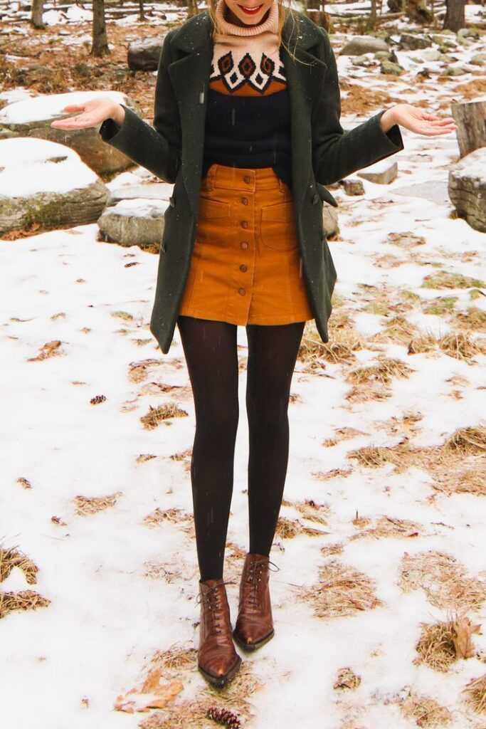 Модные юбки зимы 2020-2021 гг
