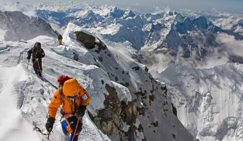 Эверест - это самая высокая горная цепь