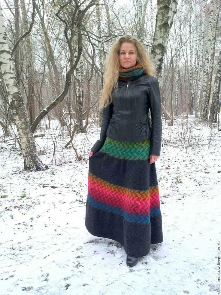 Модные юбки зимы