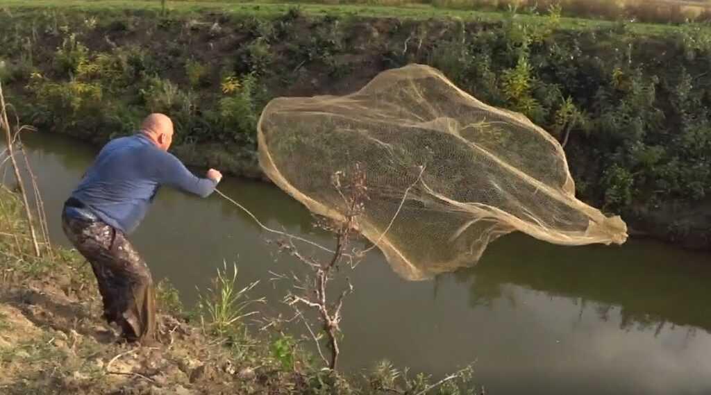Парашютная сеть. Гаджеты для рыбалки. ТОП-7 лучших изобретений