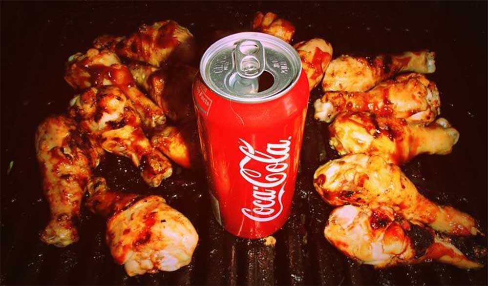 Курица в кока-коле
