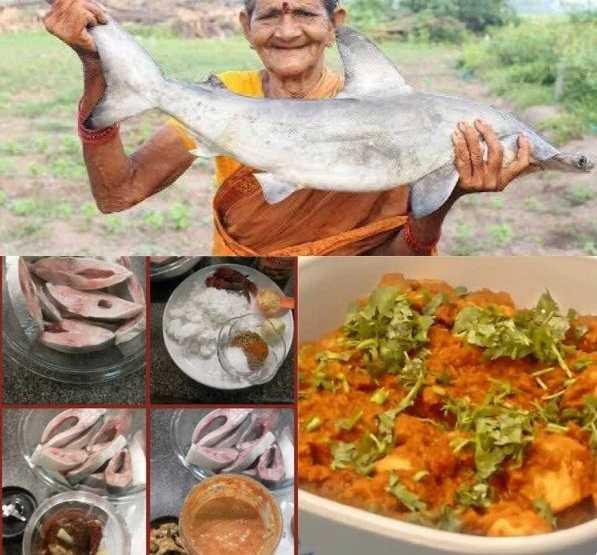 Индийские блюда. Карри из молодой акулы
