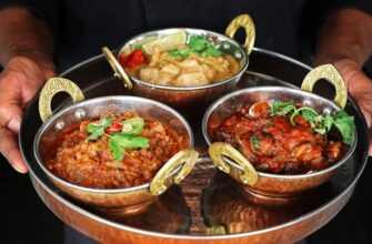 Индийские блюда, странные на вид, но вкусные и полезные