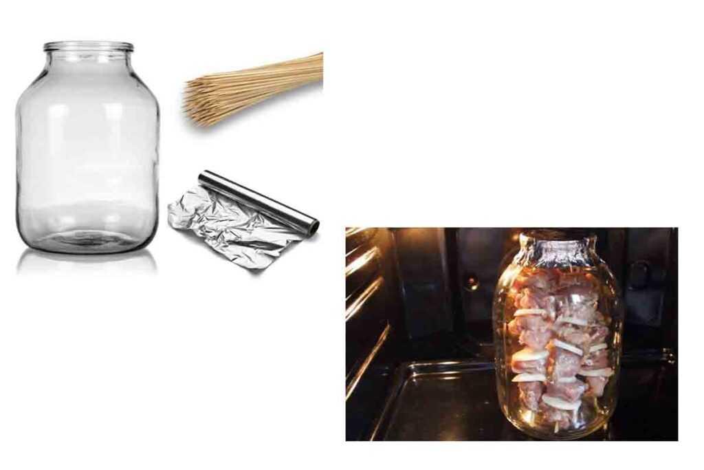 Шашлык в банке и духовке готовится очень легко. И шашлык получается невероятно сочным и вкусным!