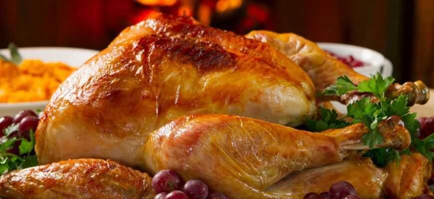 Рецепт сочной индейки из духовки к праздничному столу
