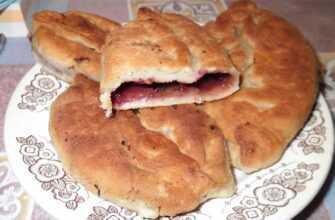 Пирожки с черемухой (сласти) и их полезные свойства