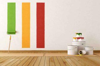 Как покрасить стены в квартире - студии самостоятельно и экономично