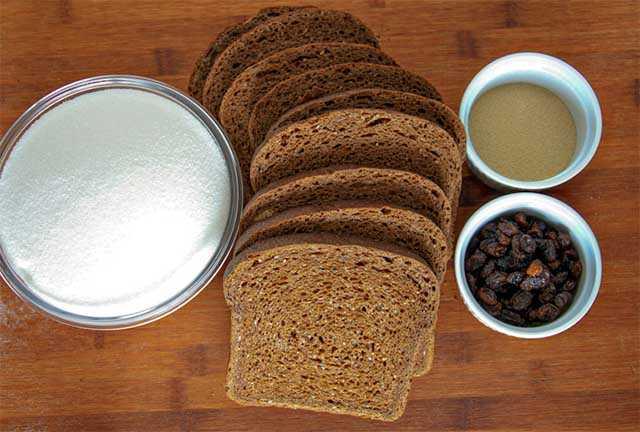 ржаного хлеба с мятой
