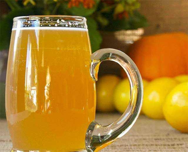 лимонный квас с изюмом